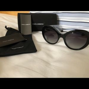Dolce habana chunky gradient sunglasses